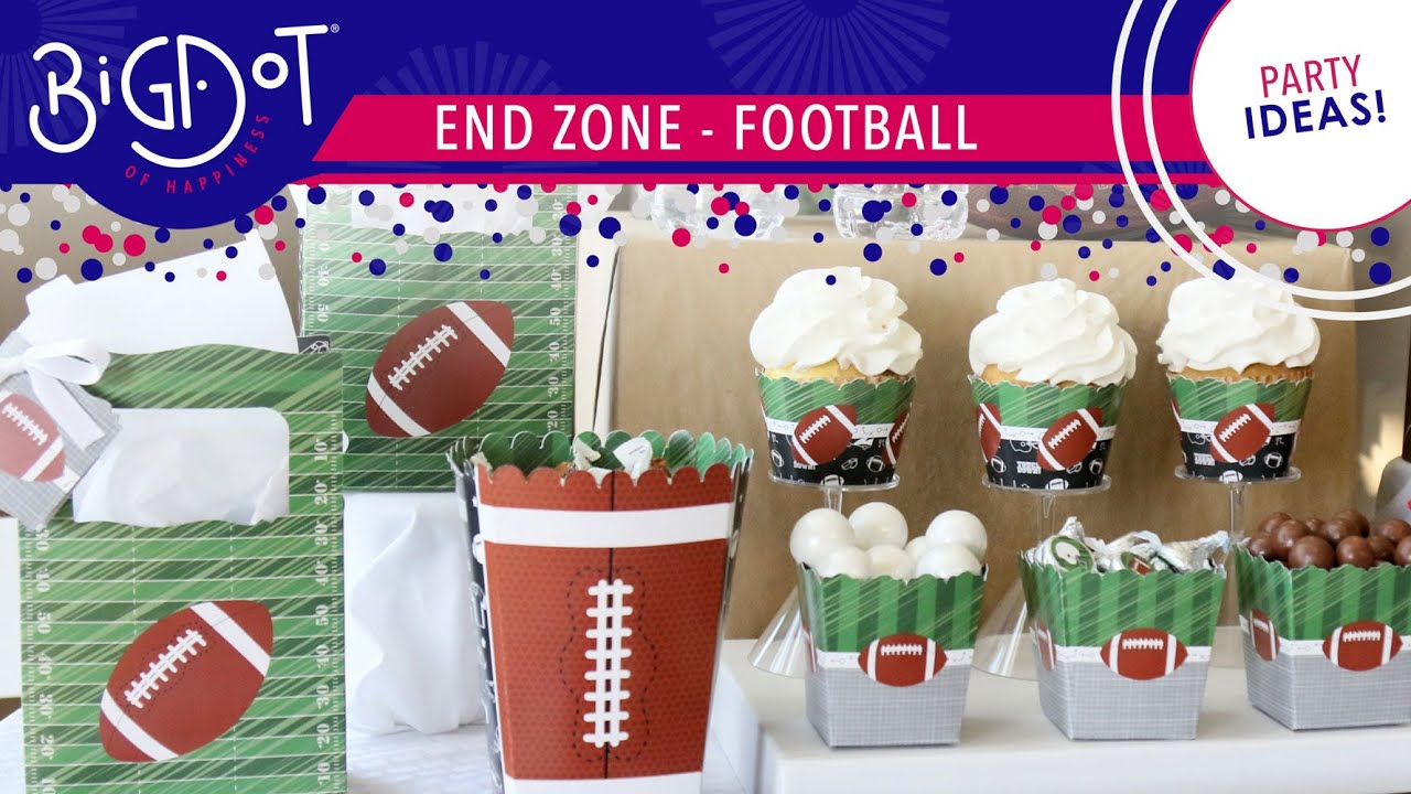 End Zone Football Decorations Diy Party Ideas Big Dot Of