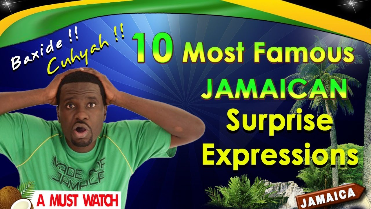 10 Jamaican Surprise Expressions (COVID 19)
