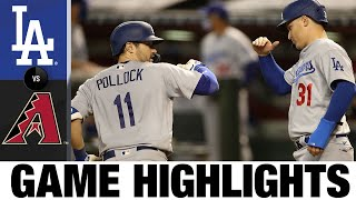 Dodgers hit four homers in 11-2 win vs. D-backs | Dodgers-D-Backs Game Highlights 8/1/20
