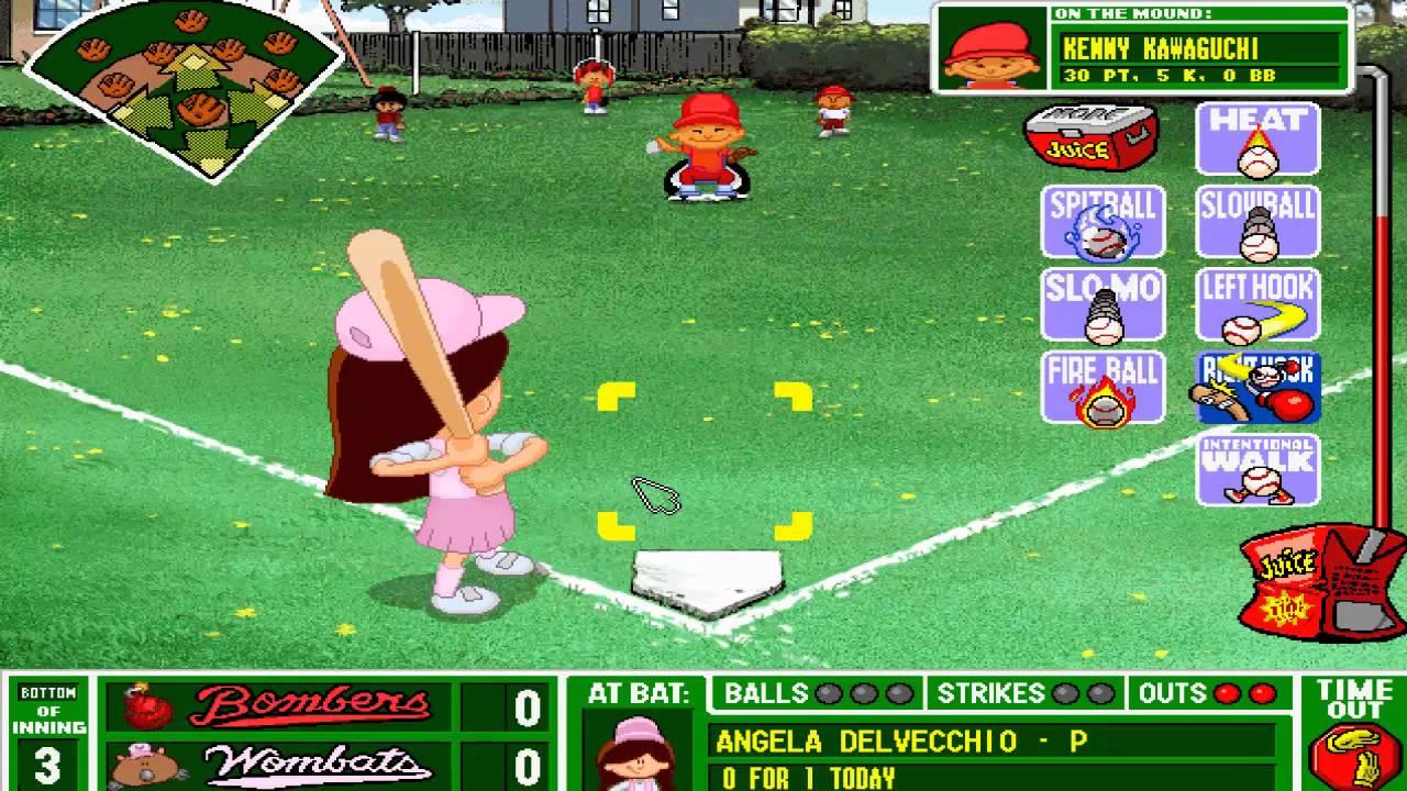 Backyard Baseball 1997: The Worst Single-Play Ever - YouTube
