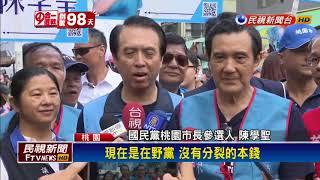 楊麗環宣布脫黨選桃市長 陳學聖邀馬掃街固票-民視新聞