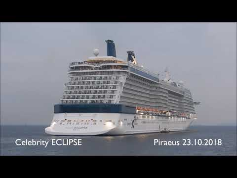 CELEBRITY ECLIPSE departure from Piraeus Port