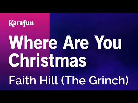 Faith hill where are you christmas (lyrics) action. News abc.
