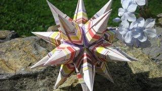 Origami ✺ Igel ✺ Kusudama