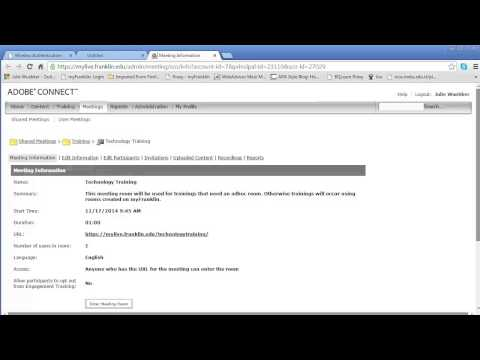 Deleting Uploaded Content in a Meeting - Adobe Connect