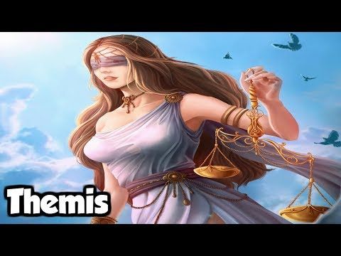 Themis: The Titan Goddess Of Divine Law & Order And Oracles  Greek Mythology Explained
