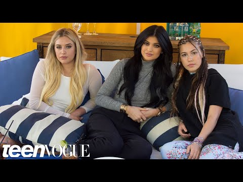 Kylie Jenner Answers Questions From Her BFFs  Teen Vogue