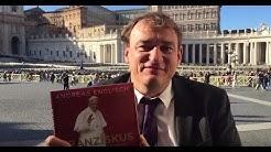 Autor Andreas Englisch gratuliert Papst Franziskus zum 80. Geburtstag