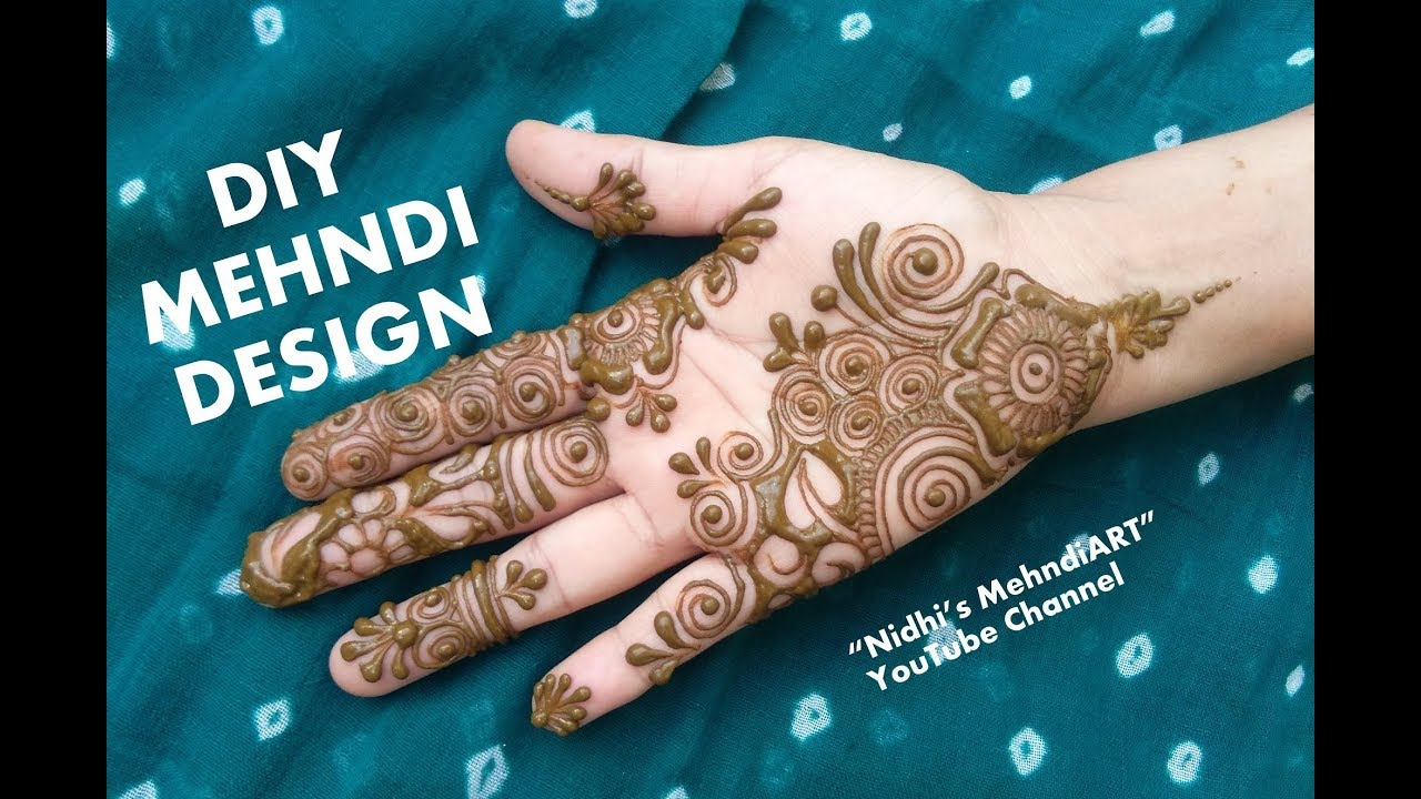 Mehndi Art Simple : Simple mehndi art designs perfect best henna images on