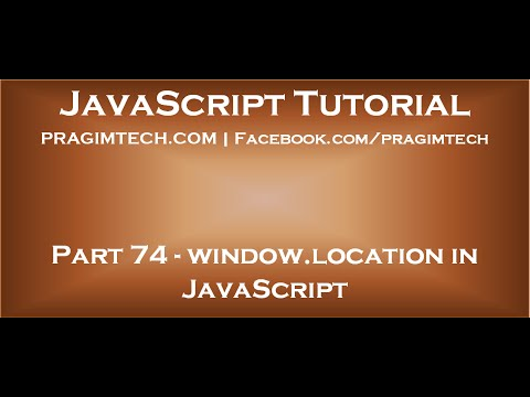 window location in JavaScript