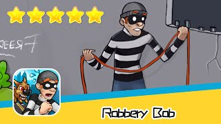 Robbery Bob SUBURBS Part4 Walkthrough Prison Bob Recommend index five stars