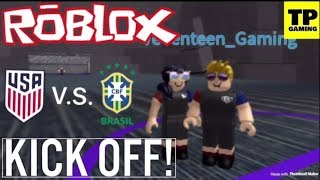 ROBLOX KICK OFF (EVENT) W/ VEVENTEENGAMING! | GOALLLLLLL!