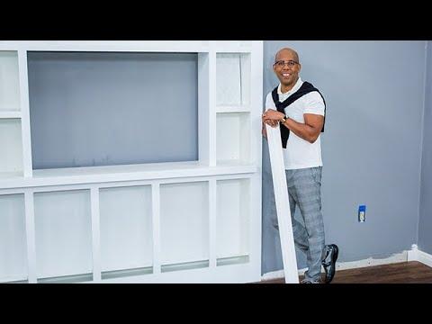 How to Make Your Entertainment Center Pop: Renovation Fever - Home & Family