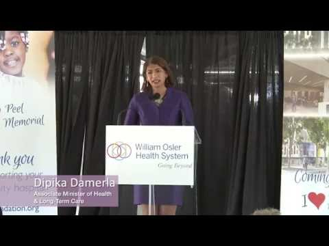 New Peel Memorial Centre for Integrated Health and Wellness Topping-off Ceremony