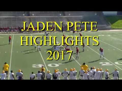 Jaden Pete 2017 Highlights Fb Marshall H S C O 2020 Youtube