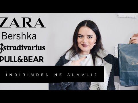 ZARA İNDİRİMİNDEN NE ALMALI? |Stradivarius,Bershka,Pull&Bear