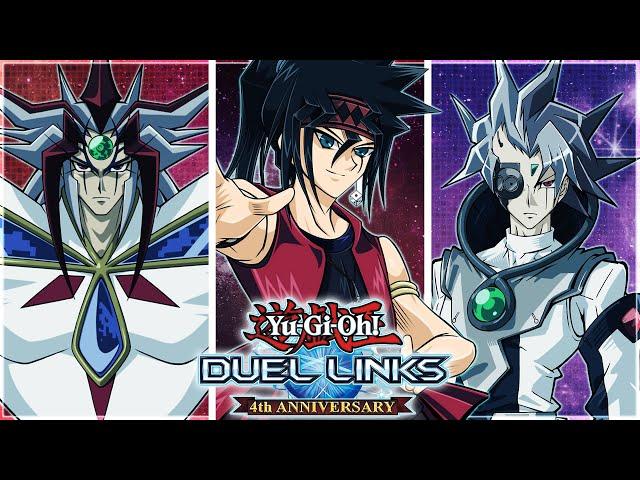 Yu-Gi-Oh! Duel Links | HUGE UPDATES! DUKE DEVLIN UNLOCK! NEW 5D'S CHARACTER! PRIMO OR APORIA?! XYZ!