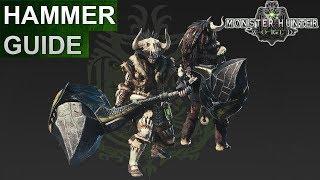 Monster Hunter World: Hammer Guide (Deutsch/German)