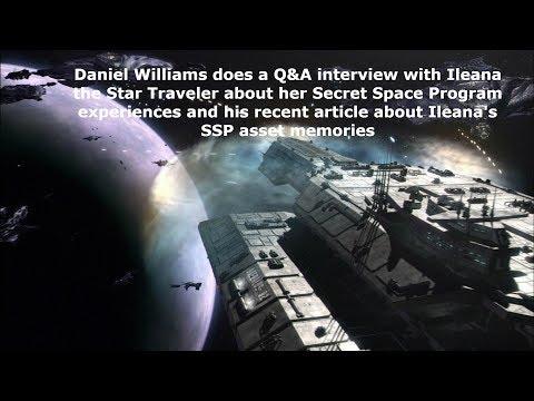 Daniel Williams Secret Space Program Q&A with Star Traveler about being an SSP asset
