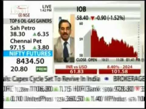 NDTV Profit Power Lunch 19 Nov 2014 Mr  P Rudran-MD & CEO, Arcil