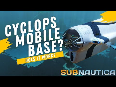 CAN THE CYCLOPS WORK AS A COMPLETE MOBILE BASE?  -  Subnauti