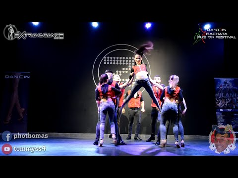 Extravagance Dance Company by Andrea & Silvia [Voy Pa'lla] @ Dancin Fusion 2016