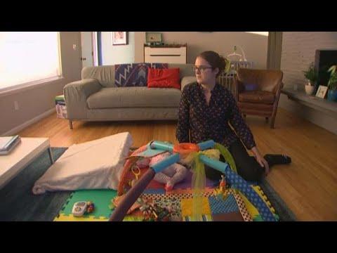 Seattle mom describes baby's sudden paralysis