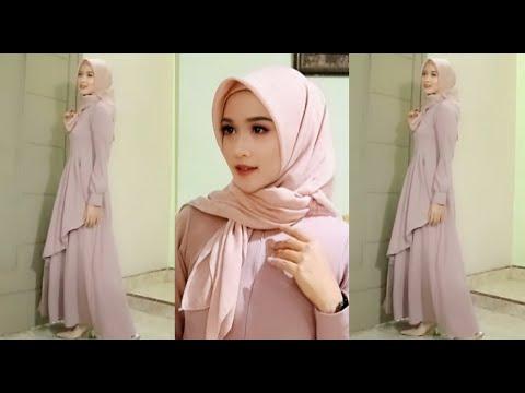 Video Tutorial Hijab Pesta Simple Dan Cantik