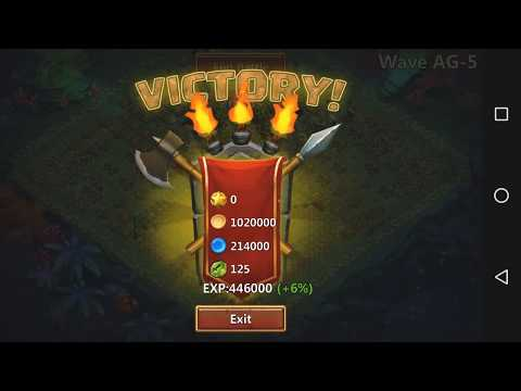 Castle Clash : HBM AG Victory [ First Try With WallaWalla | Easy