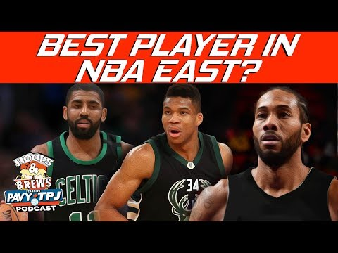 Who Is the Best Player in the NBA East ? | Hoops N Brews