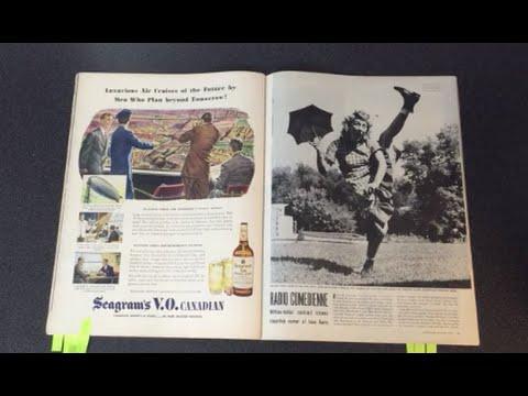 Life magazine - October 1, 1945 - Video Tour