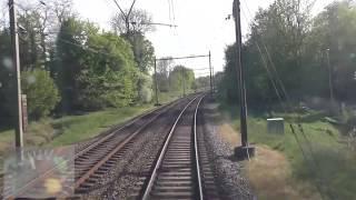 Meerijden met de machinist van Zwolle naar Arnhem Centraal. (Met snelheidsmeter)
