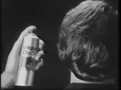 Commercial Of Hair Spray Vitalis Dry 3 Version In Black White Television Usa 1973