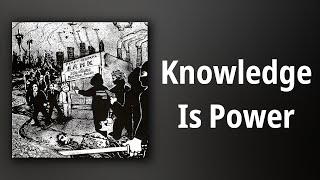 No Cash // Knowledge Is Power