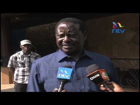 Raila assures Kenyans he is well following treatment for food poisoning