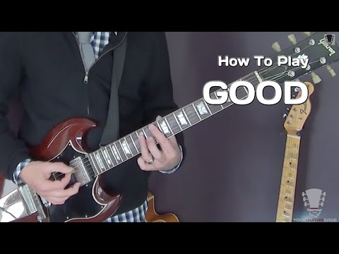How To Play Good by Better Than Ezra - Guitar Lesson
