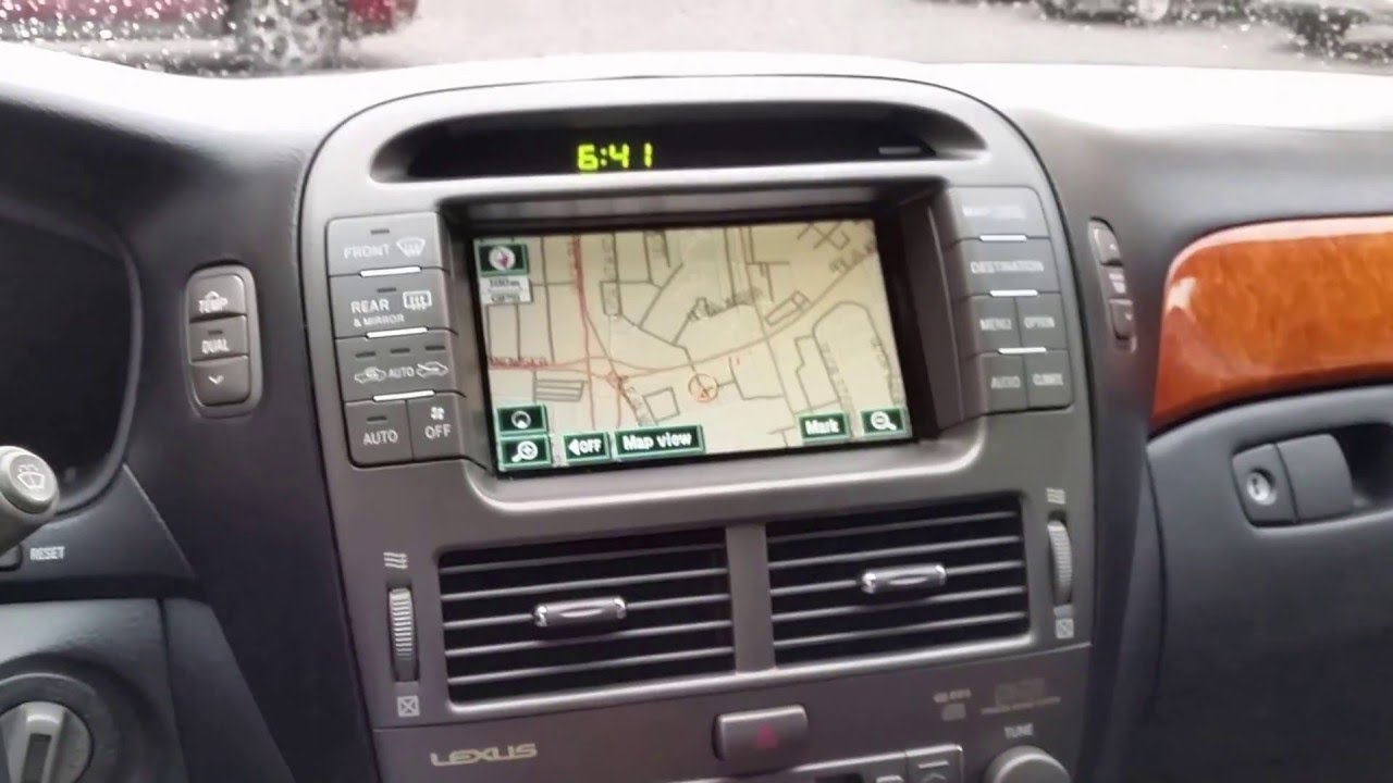 LS430 aux and video switching