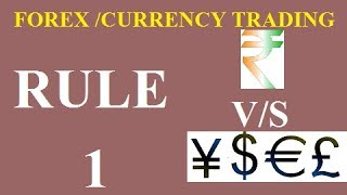 RULE-1 -12 Golden Rules For Forex Trading Success(HINDI) [ TOP RATED ]