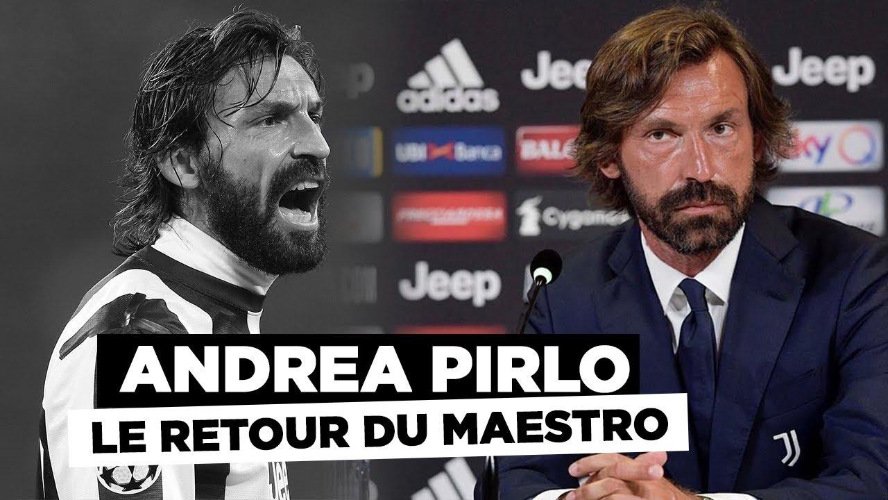 Juventus - Pirlo le maestro est de retour !