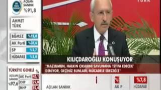 Kemal Kılıçdaroğlu Seçim Sonrası Çok Sert Açıklamalar [YEREL SEÇİM 30/03/2014] [HD]