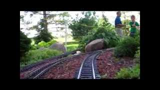 Reindeer Pass Garden Railroad: Scenes & Cab Ride (UPDATED!) 2015