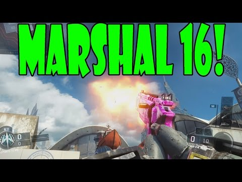 """New MARSHAL 16 GAMEPLAY """"Pistol ShotGun"""" (Black Ops 3 New Marshal Pistol)"""
