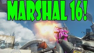 "New MARSHAL 16 GAMEPLAY ""Pistol ShotGun"" (Black Ops 3 New Marshal Pistol)"