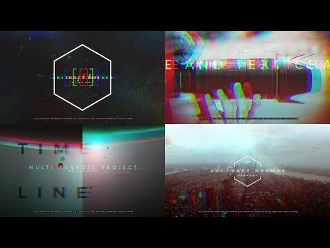 Abstract Opener - After Effects template - 동영상
