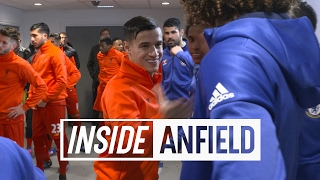 Inside Anfield: Liverpool v Chelsea   Tunnel Cam