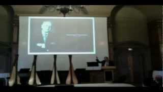 Homenaje a Fernando Hinestrosa en la Ciudad Internacional Universitaria de París.