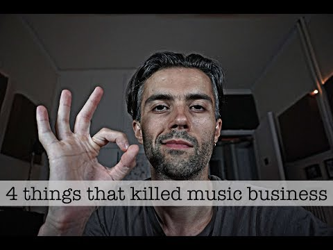 4 things that killed the music industry