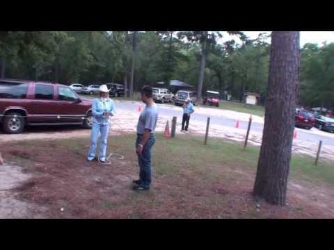 Trick Roping - Camp Allen - Sept. 7, 2009