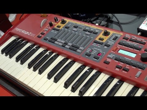 [Musikmesse] Nord Stage 2 EX