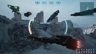 Dreadnought PC Open Beta Gameplay Part 2 - Artillery Cruiser & Team Elimination